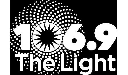 106.9 The Light Logo